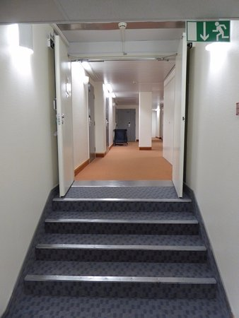 Kajaani, فنلندا: Corridor
