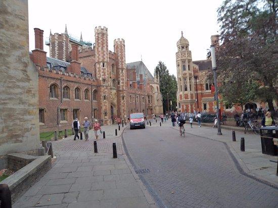 Queens' College: ArghyaKolkata Queen's College, Cambridge-1