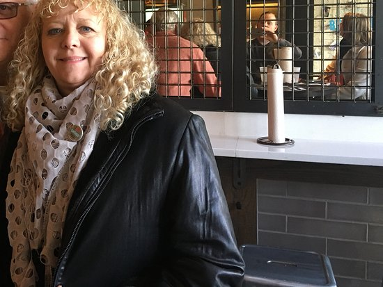 Chicago Food Planet Food Tours : Me and my husband