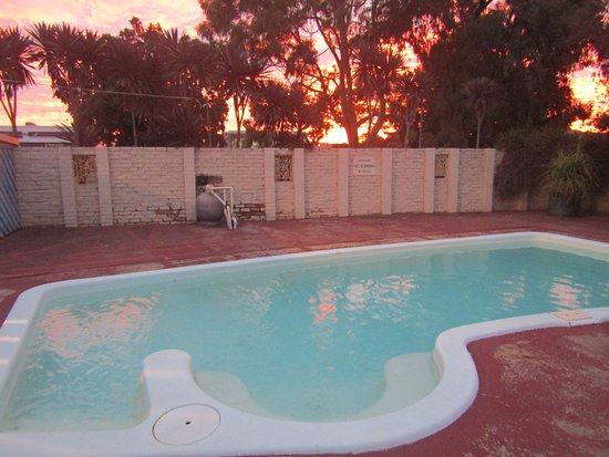 Wodonga, Australia: pool area