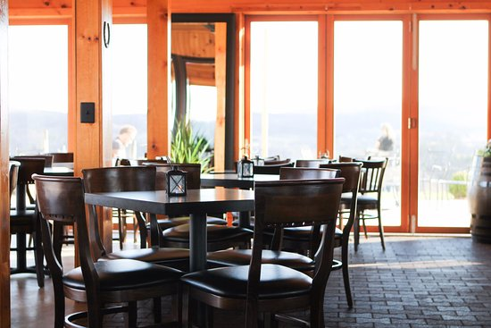 Middleburg, VA: The Tack Room is a great spot to enjoy your wine with great big windows to take in the view.