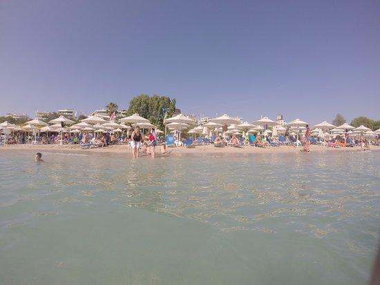 Alimos, Grecia: vista desde el mar