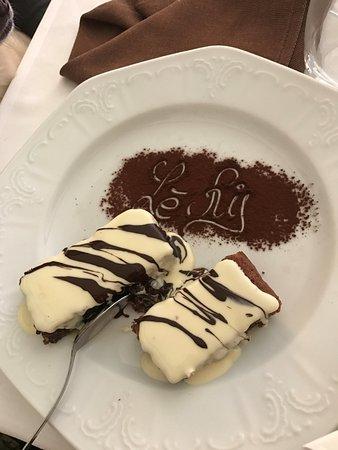 Suno, Италия: Tortino di riso con cioccolato