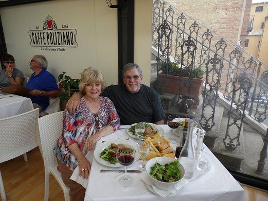 Caffe Poliziano: Out on the terrace