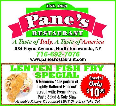 North Tonawanda, NY: Lenten Fish Fry Special until Easter