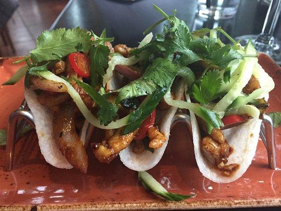 Lynnwood, WA: Kung Pao Chicken Jicama Street Tacos