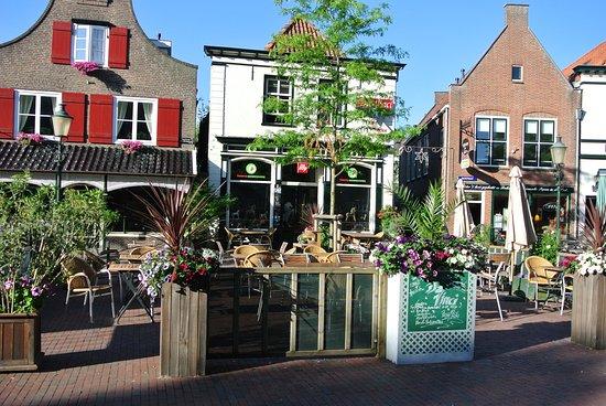 Lochem, Países Bajos: dineren op on mediterraan terras..