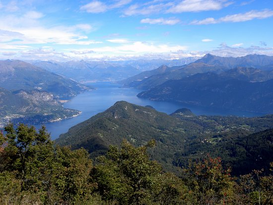 Dongo, Italia: San Primo pick - the heart of Lake Como