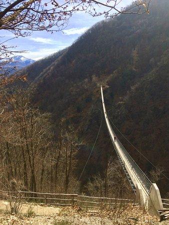 Sementina, สวิตเซอร์แลนด์: Ponte Tibetano di Carasc