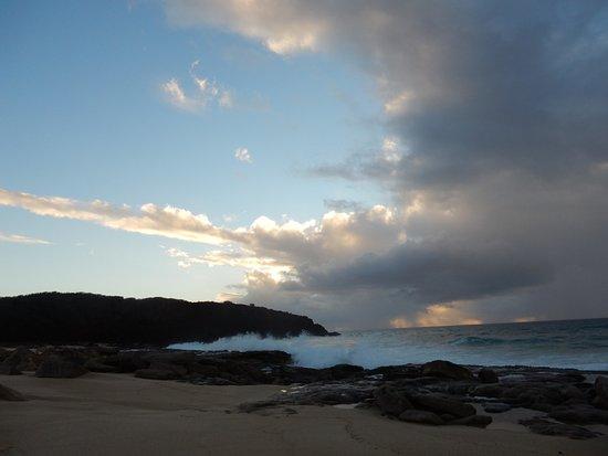 Maunaloa, ฮาวาย: clouds near sunset