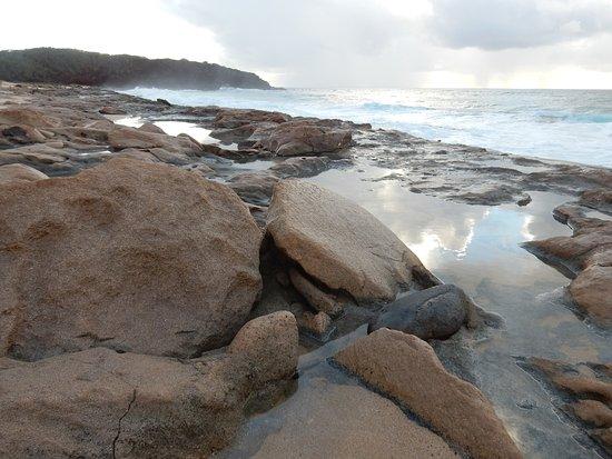Maunaloa, HI: Rocky beach