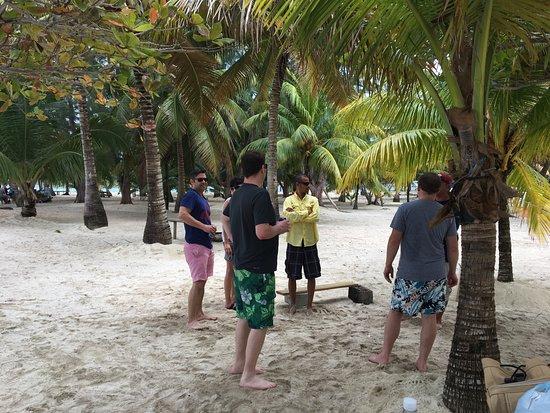 Utila, ฮอนดูรัส: Water Cay