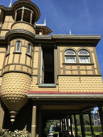 """Winchester Mystery House: The """"Door To Nowhere"""" from outside"""