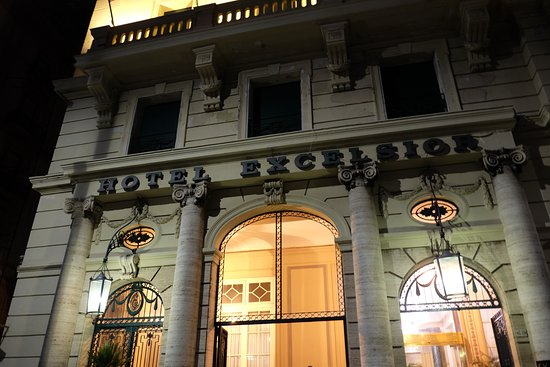 Fasada Budynku Picture Of Eurostars Hotel Excelsior Naples
