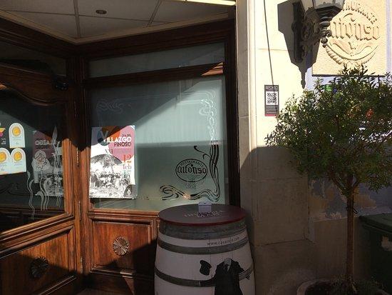 Alfonso Restaurante: Mostra de Cuina