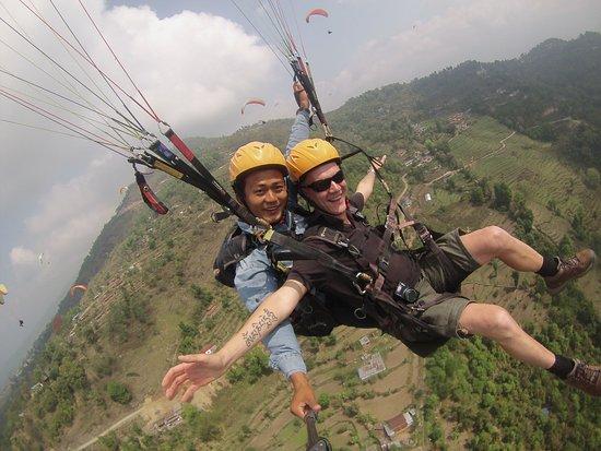 Kathmandu Valley, Nepal: Paragliding in Pokhara, Nepal