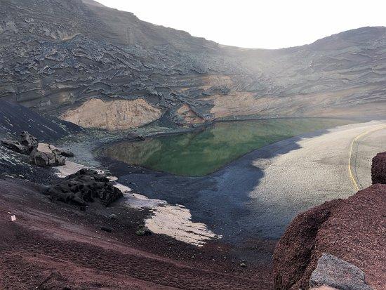 EL Golfo, España: lago verde