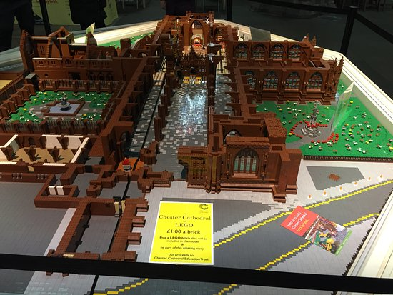 Chester Cathedral: Lego cathedral