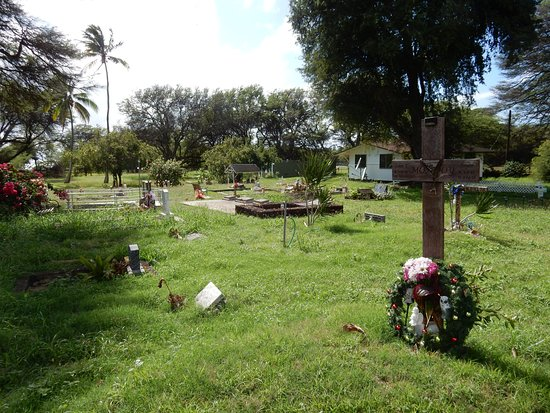 St. Joseph's Catholic Church: graveyard