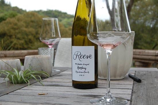 Healdsburg, CA: Reeve Wines...look out Kistler!