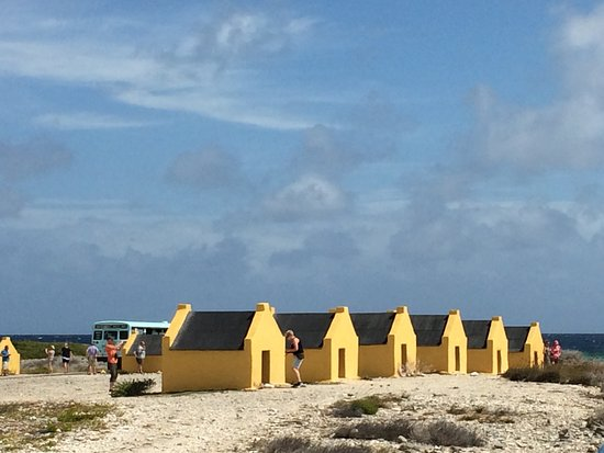 Kralendijk, Bonaire: Sklavenhäuser auf Bonaire