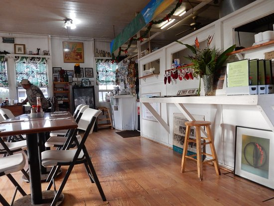 Kualapuu, Havai: The dining room