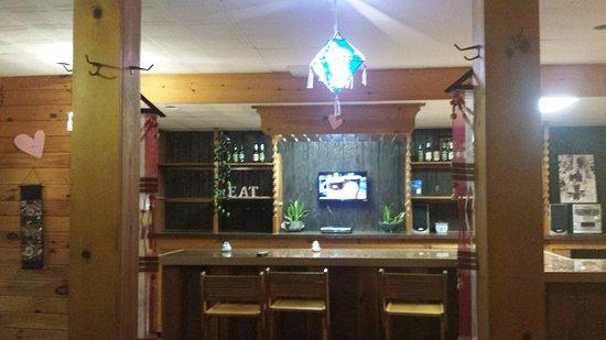 Liberty, NY: interior, the former (future?) bar area