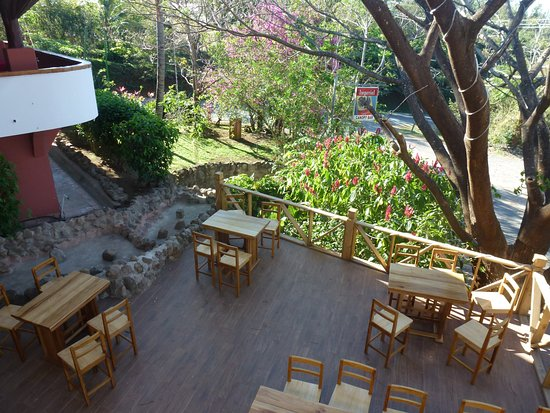 Hacienda Guachipelin: Bar