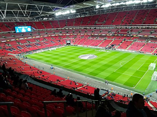 Wembley, UK: before the game Tottenahm vs Gent