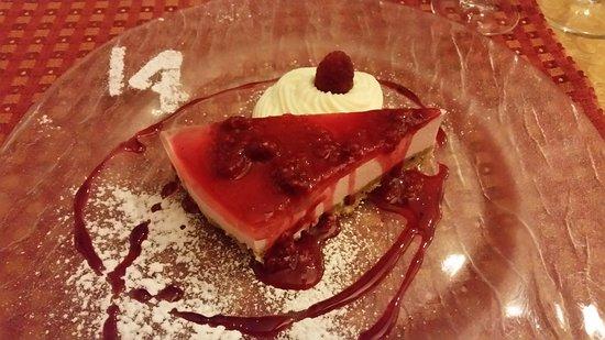 Carmagnola, Itália: Cheesecake.