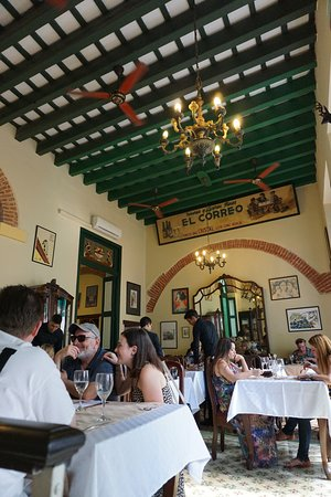 Photo of Caribbean Restaurant Paladar Los Mercaderes at Calle Mercaderes #207, Havana, Cuba