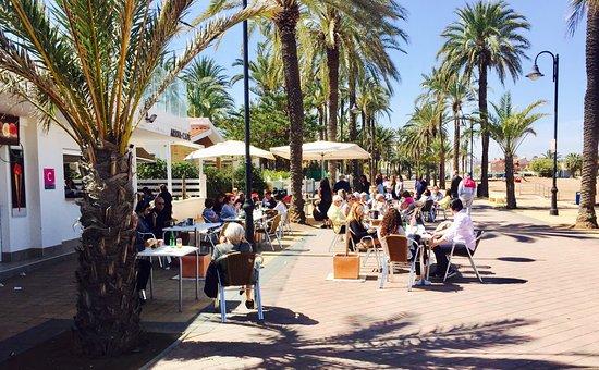 Mar de Cristal, Espanha: Cafe Arena
