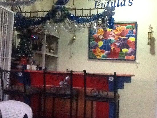 Luperon, República Dominicana: The main bar.