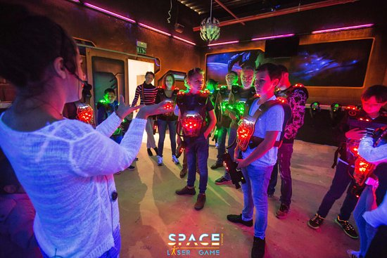 Space Laser Game Brussels