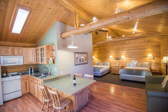 Glacier View, AK: Premier Cabin