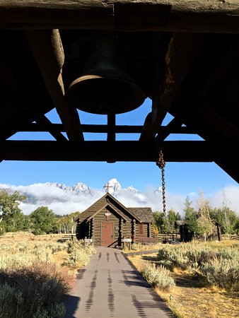 Moose, WY: The bell