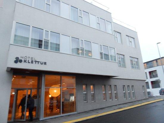 Hotel Klettur: entrance