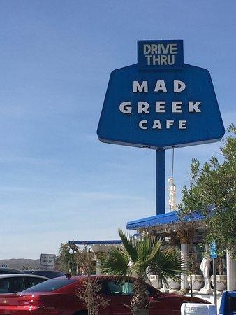 Baker, แคลิฟอร์เนีย: restaurant sign