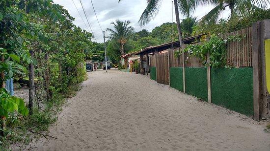 Ilha de Boipeba, BA: el pueblo