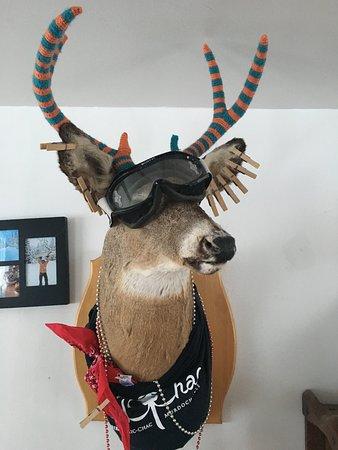 Murdochville, Canadá: Lodge decor