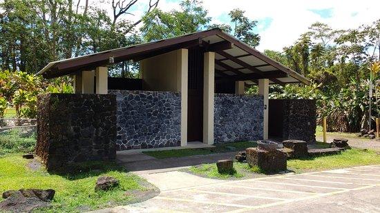 Pahoa, Hawái: Park restrooms.