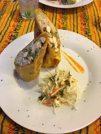 Dopi's: Chicken Burrito