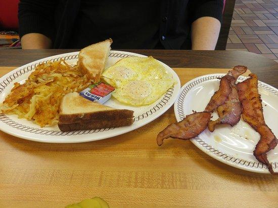 Dothan, AL: 2-Egg Breakfast with Bacon & Crispy Hashbrowns