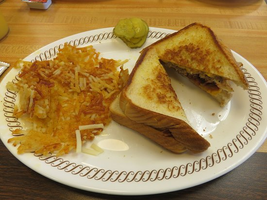 Dothan, AL: Sausage, Egg and Cheese Melt with Crispy Hash Brown Potatoes