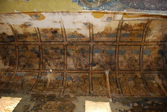 Azraq, Yordania: Фрески в Каср Амра