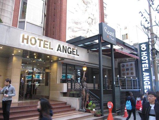 Hotel Angel: ホテル正面