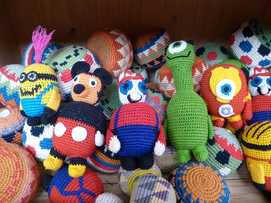 San Juan la Laguna, Guatemala: kids dolls