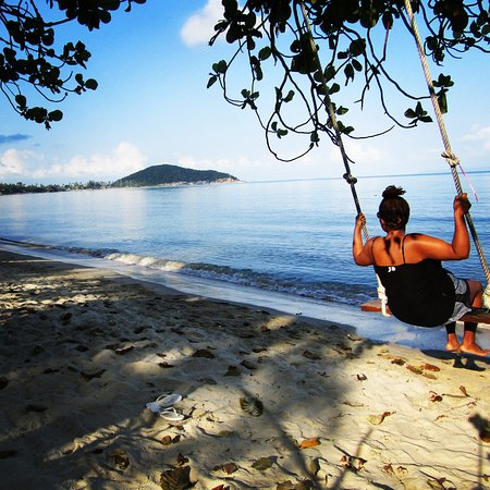 Lipa Noi, Ταϊλάνδη: the swing that just made my heart smile