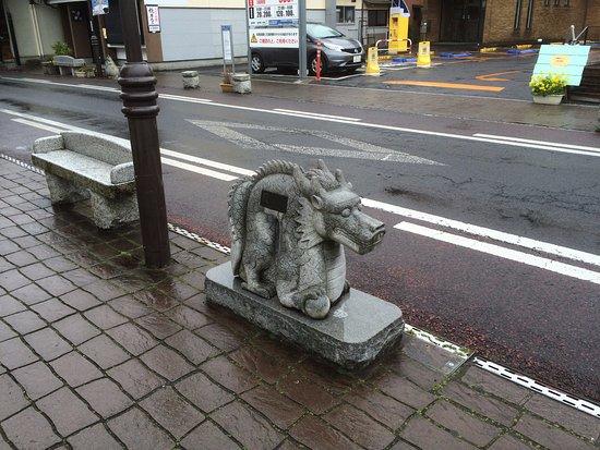 Naritasan Omote Sando: Stom=ne Carvings Of Animals That Represent The Years
