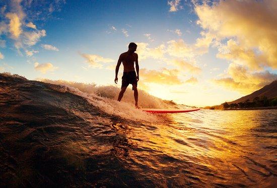 Paia, ฮาวาย: Tyler Larronde Surf Maui